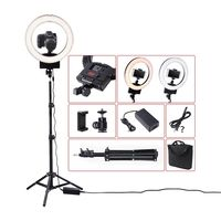 Fusitu 12 3200K 5600K Bi Color 36W Photography Lighting Dimmable Camera Photo Studio Phone Video Ring