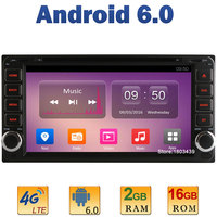 Quad Core 2GB RAM 4G LTE SIM WIFI Android 6 0 Car DVD Player For Toyota