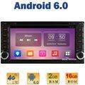 Quad Core 2 GB RAM 4G LTE SIM WIFI Android 6.0 de DVD Del Coche reproductor Para Toyota Hiace Hilux RAV4 Corolla Camry Prado Tundra 4 Runner Vits