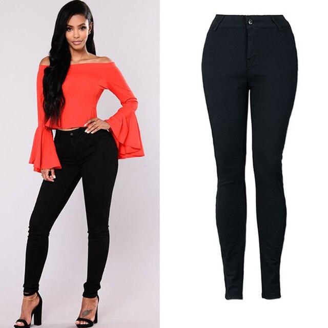 221754f88d26f US $12.31 45% OFF Aliexpress.com : Buy Women Pencil Pants 2019 Spring  Autumn Female Fashion black Sexy Elastic Strecth Tight Pant Women Trousers  ...