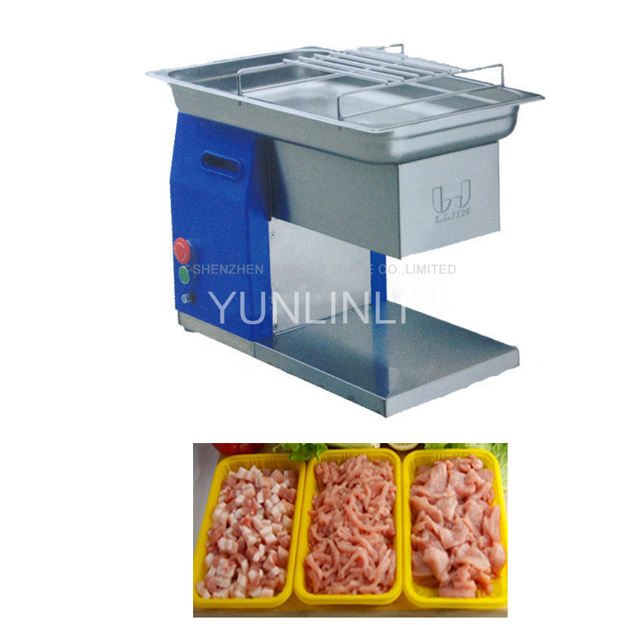 110V220V/240V hot sale in stock commercial use new design QH meat slicer cutting machine 250KG per hour