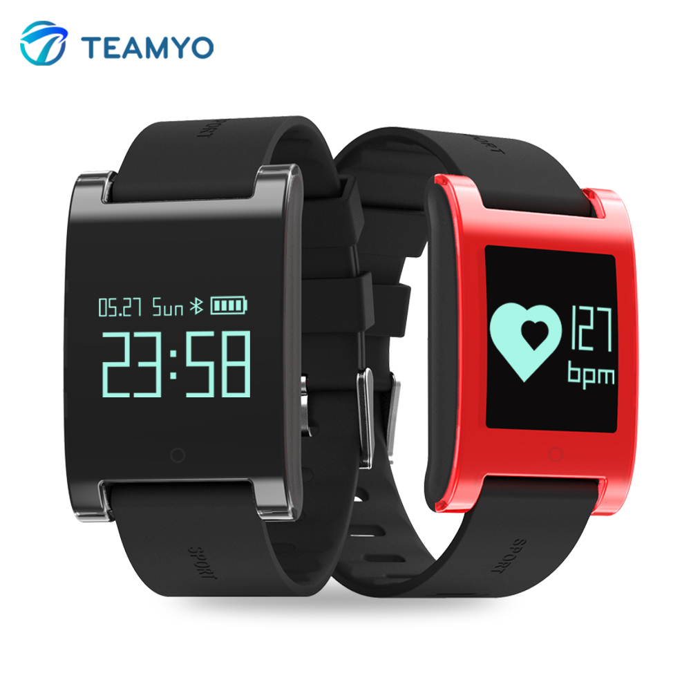 Teamyo S17 Smart wristband watches blood pressure activity tracker Heart rate monitor cardiaco Pedometer Calorie Smart