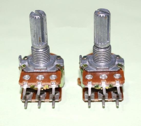 5pcs Replace For Alps Duplex Potentiometer B503 Audio