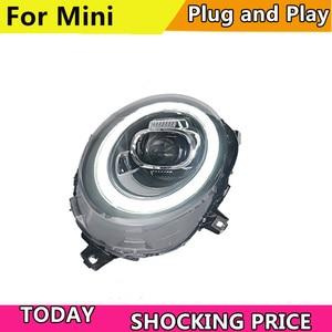 Image 3 - Auto Styling LED kopf Lampe für BMW F55 F56 scheinwerfer 2013  2019 für MINI kopf Licht DRL + Drehen signal ALLE LED scheinwerfer