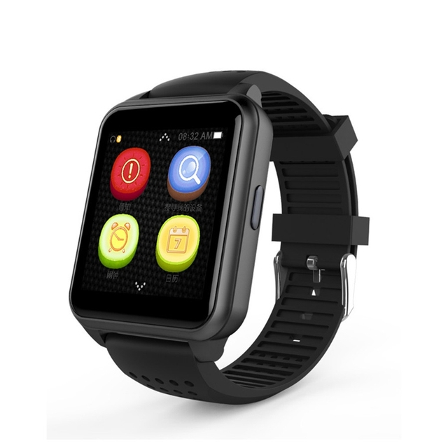 US $81 0  Mini ultra thin bluetooth smartwatch for mobile phone android  children student online orientation to monitor wrist watch-in Smart Watches