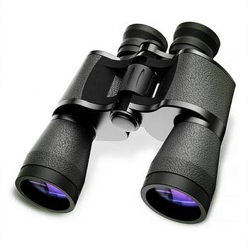 цена на Binoculars 20x50 Hd Powerful Military Baigish Binocular High Times Zoom Russian Telescope Lll Night Vision For Hunting Travel