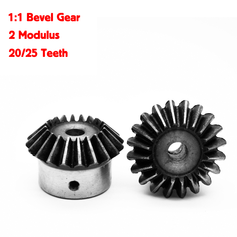 2 pz 1:1 Bevel Gear 2 Modulo 20/25 Denti ID = 8/10/12/14/15 /16/17/18/19/20mm 90 Gradi Ingranaggi In Acciaio2 pz 1:1 Bevel Gear 2 Modulo 20/25 Denti ID = 8/10/12/14/15 /16/17/18/19/20mm 90 Gradi Ingranaggi In Acciaio