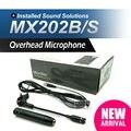 Бесплатная Доставка!! профессиональные MX202B/S MX202 Суперкардиоида Конденсаторный Микрофон для SLX14 PGX14 Беспроводная Барабан Микрофонная Система