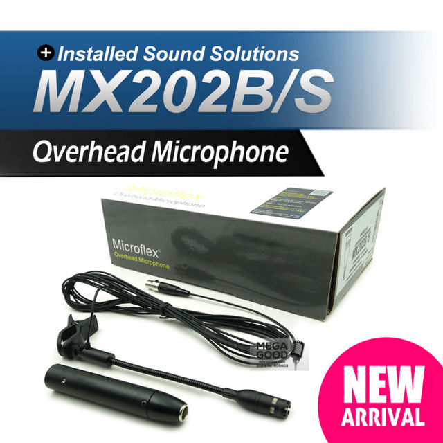 Free Shipping!! Professional MX202B/S Supercardioid MX202 Condenser Microphone for PGX14 SLX14 Wireless Drum Microphone System