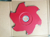 Free shipping of 1pc 100*6*20*6T TCT scoring blade with OKE original carbide tips for Scoring Aluminum plate/alunimun profile