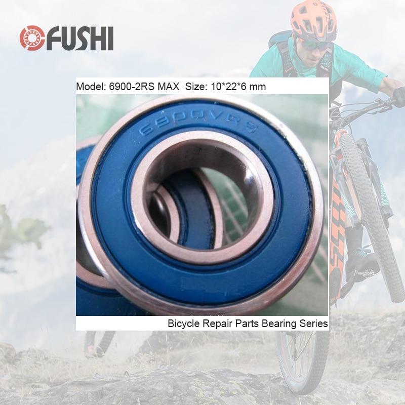 6900-2RSV MAX Bearing 10*22*6mm ( 1 PC ) Full Balls Bicycle Pivot Repair Parts 6900 2RS RSV Ball Bearings 6900-2RS sb66c suspension pivot bearing replacement full set 8 pcs