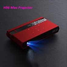 H96 Max Mini Dlp 4 K Projecteur Octa Core Android Draagbare Video Theater Bluetooth HD-IN 5G Wifi Tv doos 2Gb 16Gb Dhl Schip