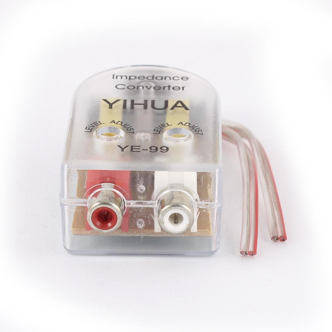 UXCELL Auto Absteigend Impedanzwandler Konverter Adapter ...