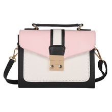 Ladies shoulder bag and handbag New Women Bag Stylish Handbag With Matching Colors Women Messenger Bags Lady shoulder bag