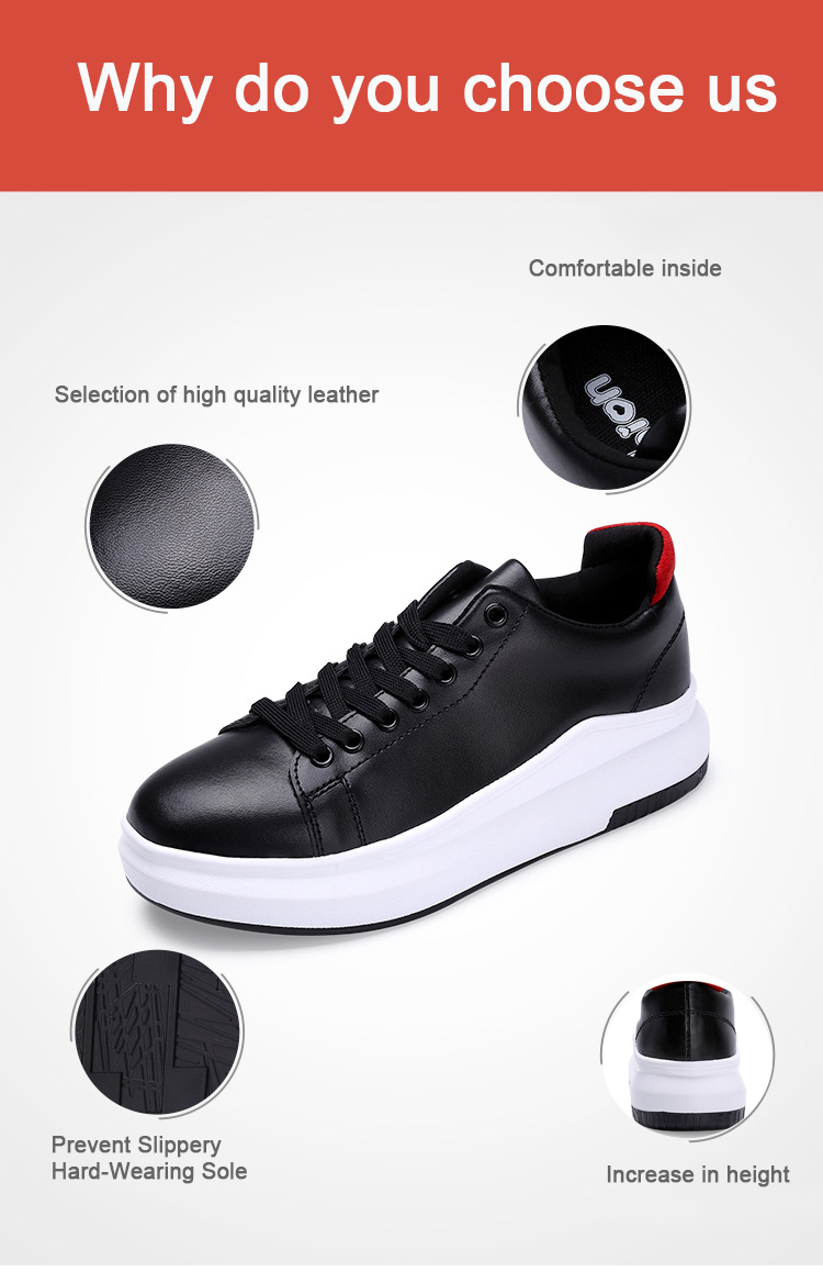 CBJSHO Summer Casual Flat Shoes Women Black Increase In Height Lace ... daf51d52ecd2