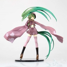 8'' Japan Anime Action Figure VOCALOID Hatsune Miku Senbonzakura Feat Ver 20cm PVC Collection Model Decoration Cosplay Doll New(China)