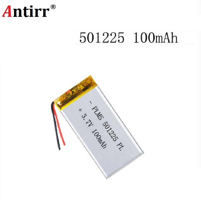 501225 511124 501025 Hot Sale Small Battery 501225 3.7V 100mAh Lipo Battery For Digital Products