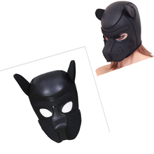 Sex Toys Exotic Accessories Puppy Shape Sponge Head Cover Stage Props Breathable  For Hot Girls Party Show Cosplay Games
