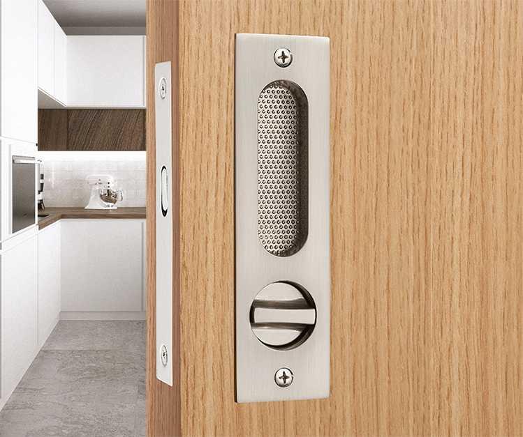 American Brushed Indoor Bedroom Wooden Door Sliding Door Lock Bathroom Balcony Kitchen Sliding Door Lock Sliding Door Invisible Locks Aliexpress