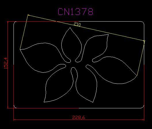 리프 cn1378 muyu 커팅 다이 scrapbooking Thickness 15.8mm 대한 새로운 나무 금형 커팅 다이-에서절단 다이스부터 홈 & 가든 의  그룹 1
