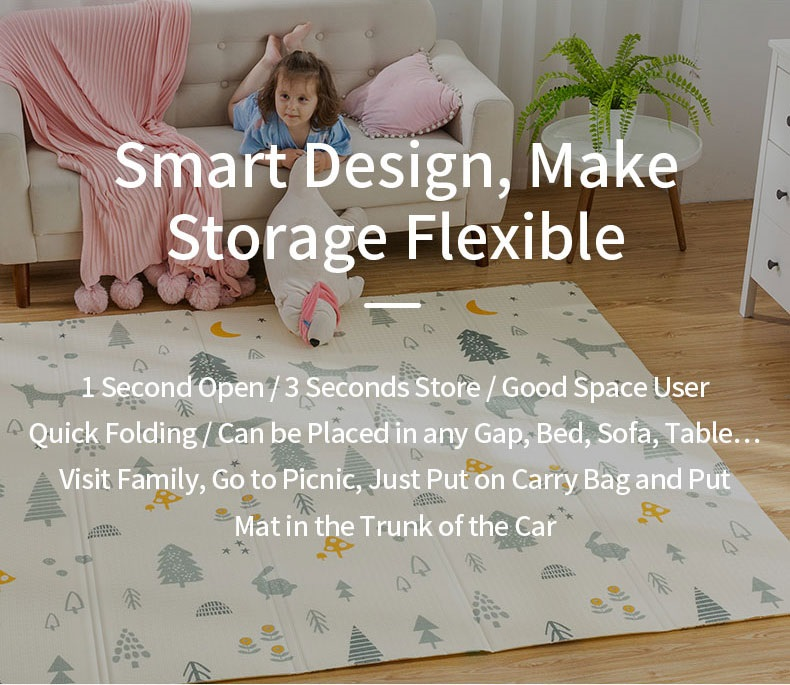 HTB1uo8fb81D3KVjSZFyq6zuFpXab Infant Shining 200cm*180cm*1cm Baby Play Mat Folding XPE Crawling Pad Home Outdoor Folding Waterproof Puzzle Game Playmat