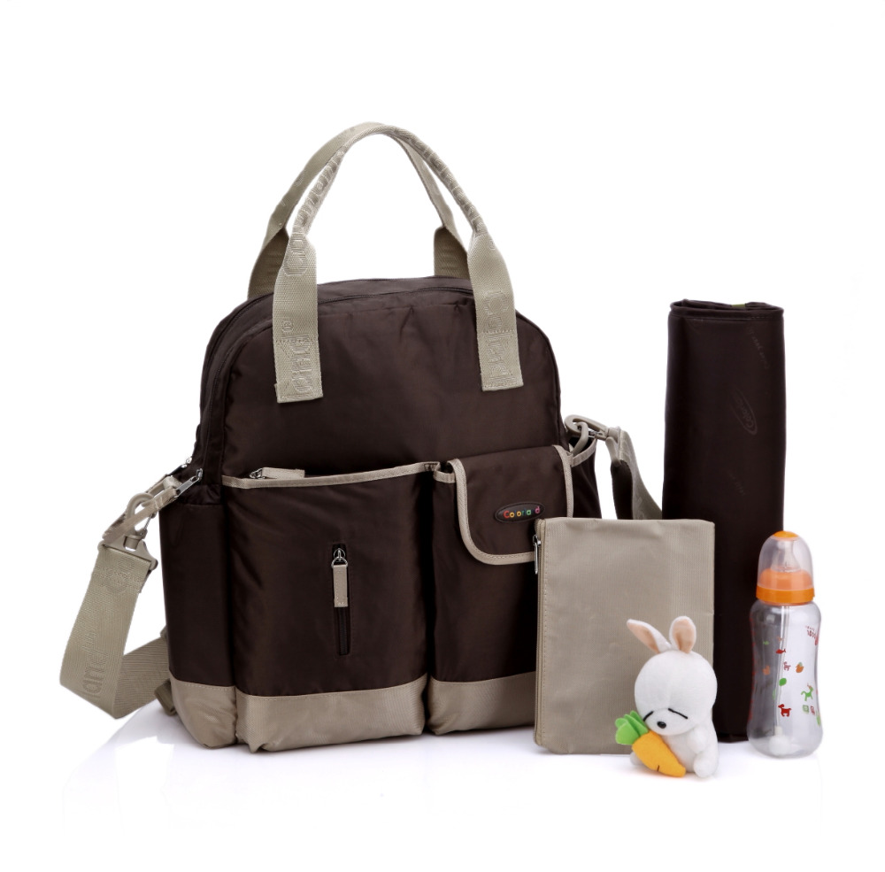 High quality cute dot baby diaper nappy bag maternity baby bags for mom multifunctional durable stroller bag high quality cute dot baby diaper nappy bag maternity baby bags for mom multifunctional mother care bag durable stroller bag