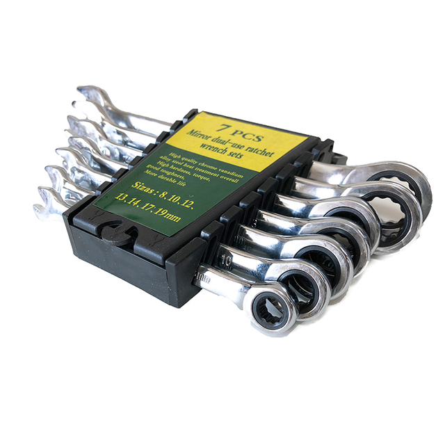 Jeu de clés à cliquet jeu de clés pour réparation de voiture ensemble doutils à main