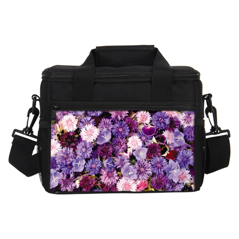 VEEVANV Thermal Insulated Lunch Tote Bag Women Kids Food Cooler Portable Box Travel Storage Thermal Insulated Fashion Food Bags