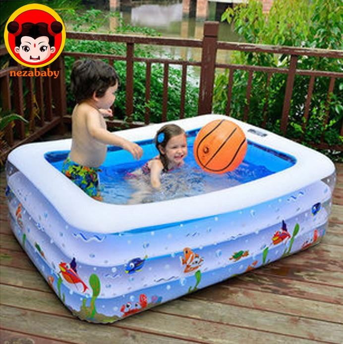 Compra piscina de pl stico online al por mayor de china for Piscina inflable ninos