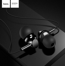 HOCO Brand Initial Sound Series 3.5mm Wired Mini Earphones with Mic Headset for iPhone 6s 6 Samsung Universal in-Ear Earbuds