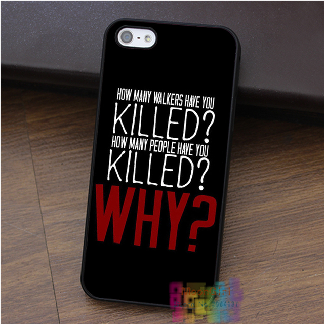 The Walking Dead TWD Phone Case for iPhone