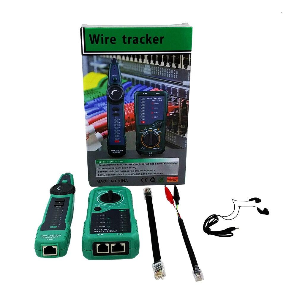 RJ11 RJ45 Telephone Wire Tracker Emitter Tracer Toner Ethernet LAN Network Cable Tester Detector Line Finder Scan Diagnose Probe