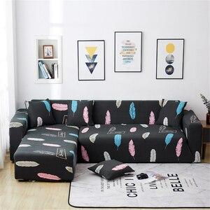 Image 4 - Parkshin Fashion Slipcover Non slip Elastic Sofa Covers Polyester Four Season All inclusive Stretch Sofa Cushion 1/2/3/4 seater