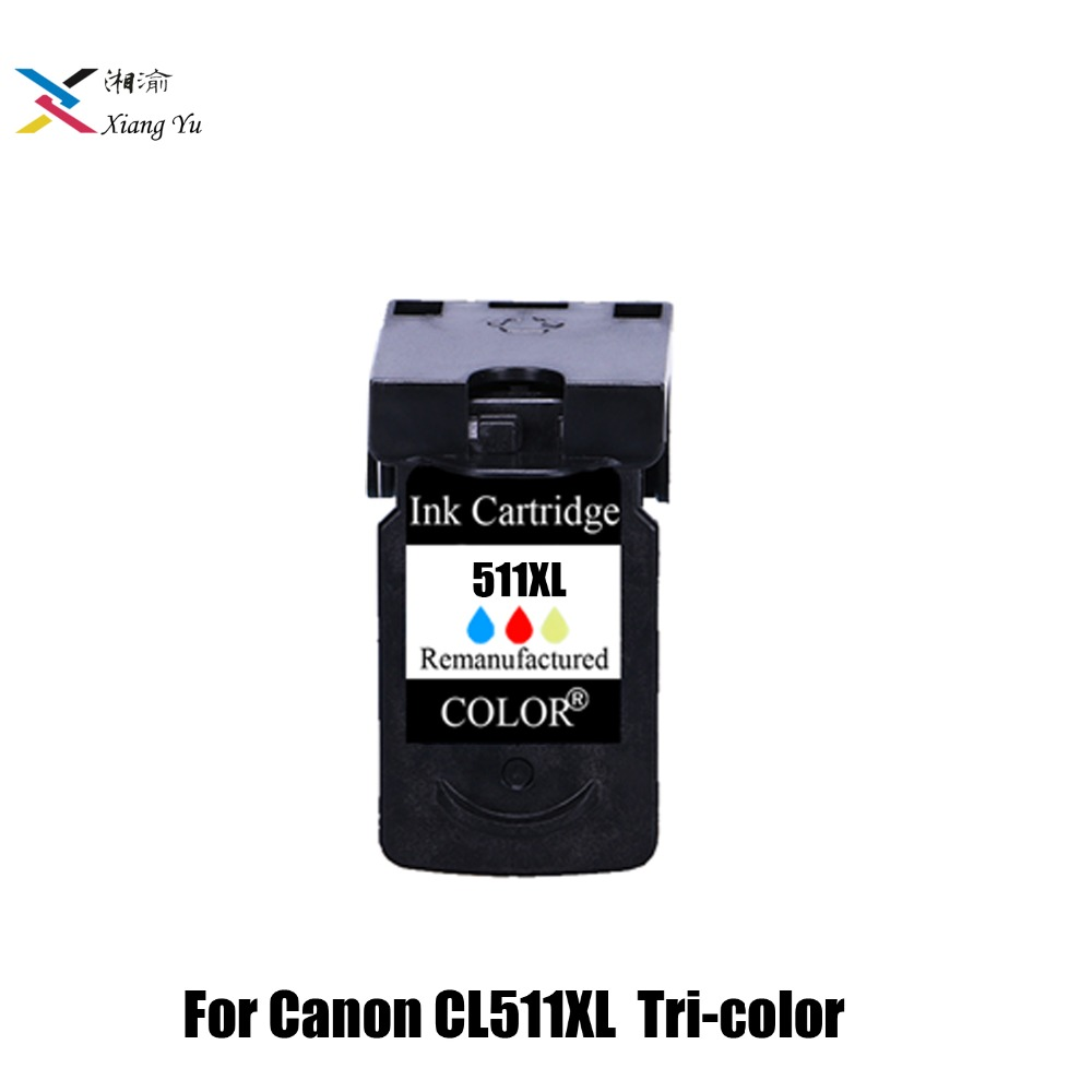 CL511 Tri-color <font><b>Ink</b></font> <font><b>Cartridge</b></font> Replacement for <font><b>Canon</b></font> CL 511 cl-511 for MP240 MP250 <font><b>MP260</b></font> MP270 MP280 MP480 MP490 IP2700 511XL image