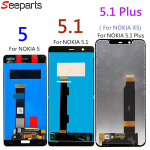 Image 3 - New For Nokia 5.1 LCD Display Touch Screen For Nokia 5.1 Plus LCD 5 X5 Screen Replacement TA 1024 1027 1044 1053 1008 1030 1109