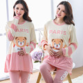 Maternity Nursing Pajamas Set Breastfeeding clothes Maternity Sleepwear clothes for Pregnant Women