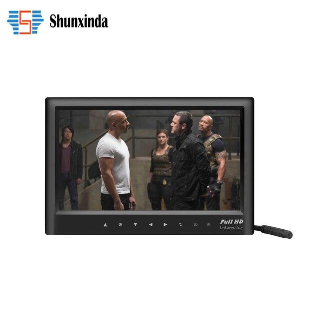 """7 """"pulgadas LCD de Aparcamiento HD Dashboard Display de Pantalla LCD de DVD/GPS/TV Pantalla de Visión Trasera Del Monitor para Coches/Autobuses/Camiones/caravana"""