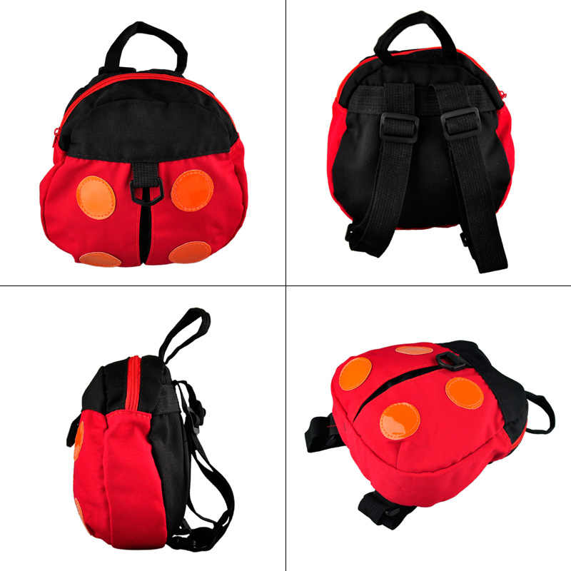1 Pcs Baby Carrier Anti Lost Harness Backpack For Kids Toddler Walking Safety Bag Strap Walking Wings Beetles Bats