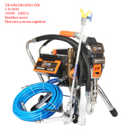 Airless Paint Sprayer Professional Airless Spray Gun Sprayers 220V Painting Machine Spraying 2.3L(393) 3.0L(X6) 3.5L(X8)