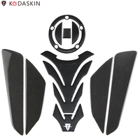 KODASKIN Carbon Gas Tank Pad Stickers for SUZUKI GSXR600 GSXR750 GSXR1000 DL650 DL1000 B KING1300 K3