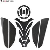 KODASKIN Carbon Gas Tank Pad Stickers for SUZUKI GSXR600 GSXR750 GSXR1000 DL650 DL1000 B KING1300 K3