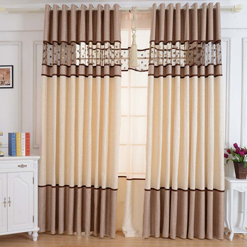 New modern splice bird 39 s nest curtains for living room 2 for M s living room curtains