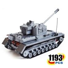 Century Military Ww2 German Panzer Iv F2 Tank 3d Model Cannon Panzerkampfwagen 923 Building Blocks Kazi Ky82010 Toy For Kid
