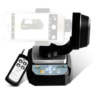 Image 2 - ZIFON YT 500 Motorisierte Fernbedienung Pan Tilt mit Stativ Mount Adapter für Extreme Kamera Wifi Kamera und Smartphone
