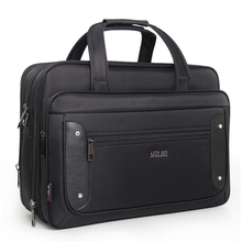 Super Capacity Male Business Briefcase Office Travel Bag-Messenger Tote Bag Women Computer 16 17 19 inch Laptop