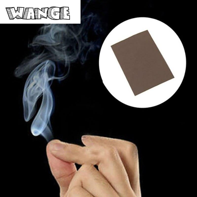 WANGE 5 шт. фокус курит сюрприз Шутки Шутка мистический весело Магия дыма от кончиками пальцев 5*7 см