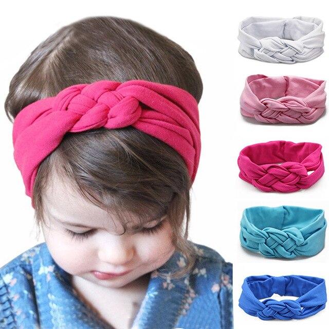 Kinder Twist Kopf Band Elastisches Haarband Mädchen Kopf Tragen