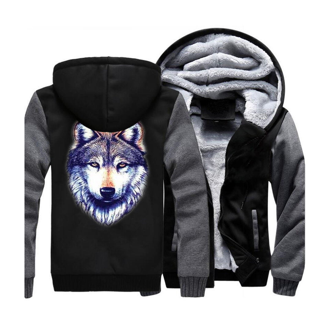 d92937334a47 Buy animal print fleece jacket and get free shipping on AliExpress.com