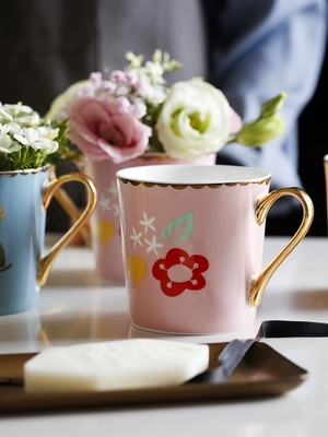 2019 new style Creative ceramic mugs milk cups tea cup office cup <font><b>coffeecups</b></font> water cups and gift boxes teacup image
