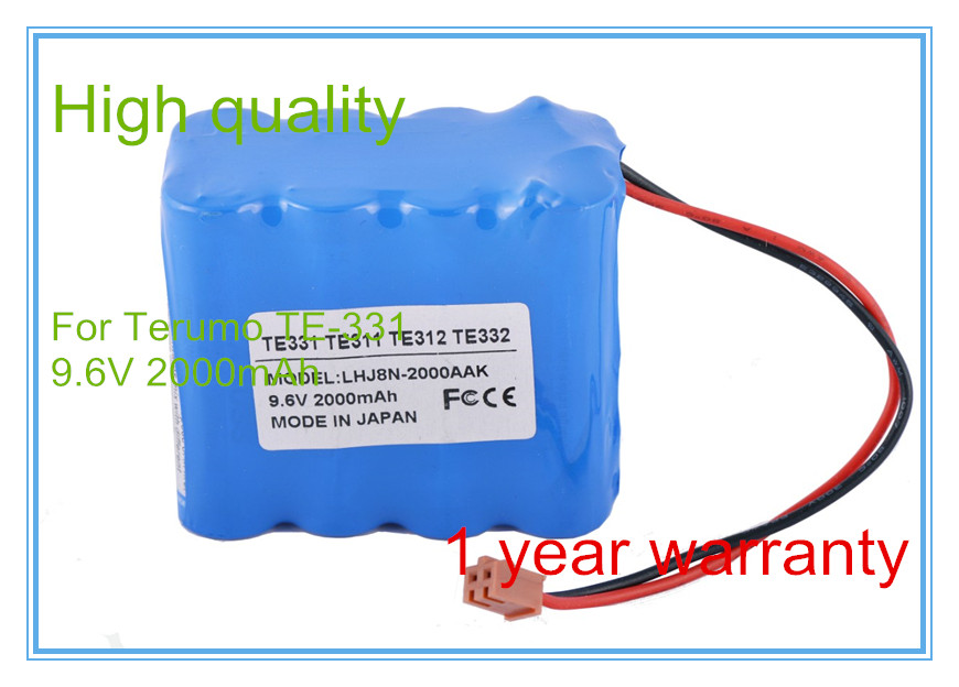 Infusion Pump battery Replacement For Infusion Pump TE-331,TE-311,TE-312,TE-332,BN-600AAK Syringe Pump battery